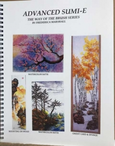 Advanced Sumi-e Workbook by Frederica Marshall