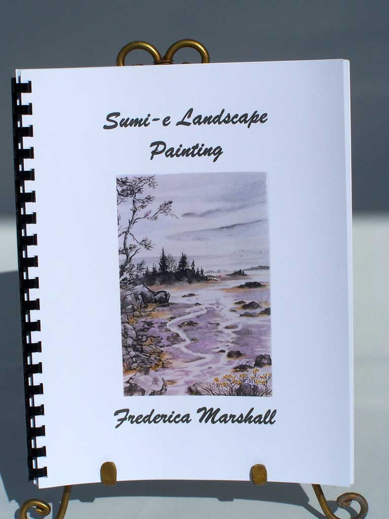 Sumi-e Landscape Painting Workbook by Frederica Marshall