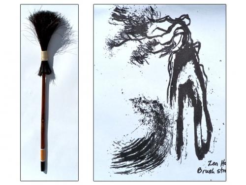 Zen Horse Brush