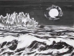 Sumi-e Landscape by Frederica Marshall