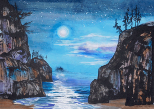 Moonlight by Frederica Marshall