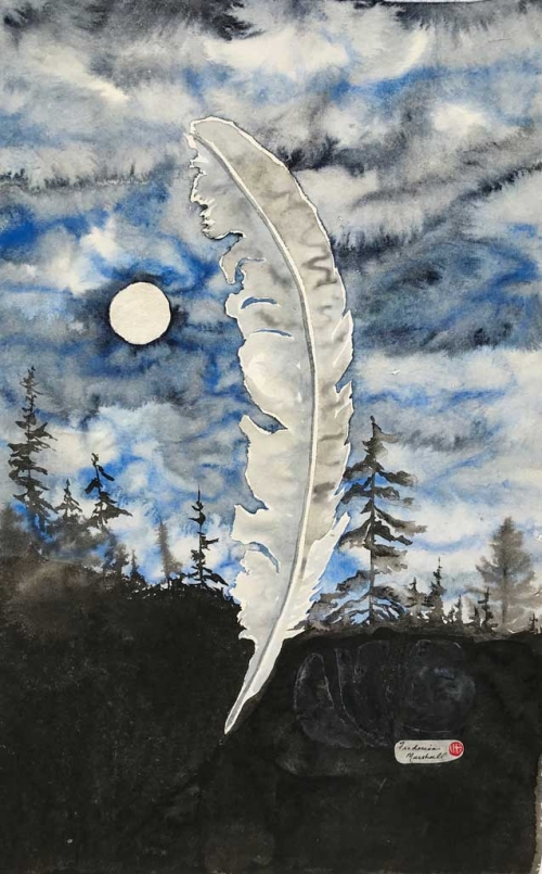Moon Feather